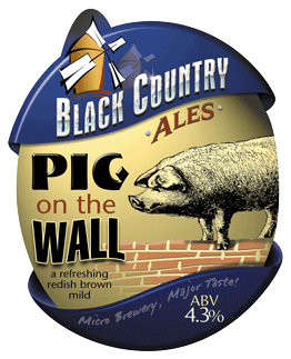 pig on the wall