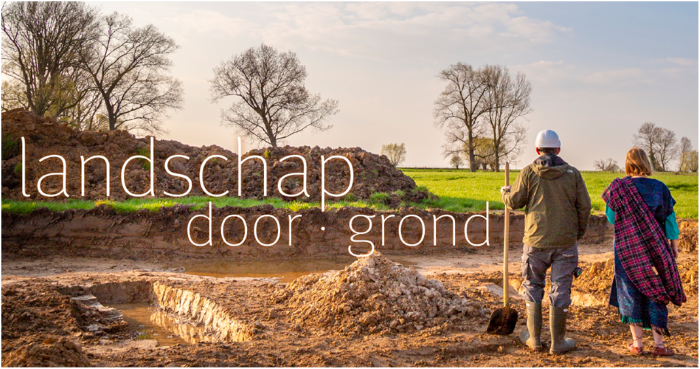 Landschap door grond
